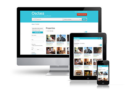 responsive classified cms